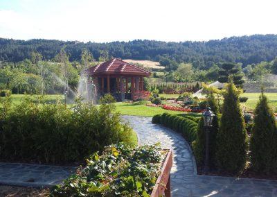 двор-озеленяване и поливна
